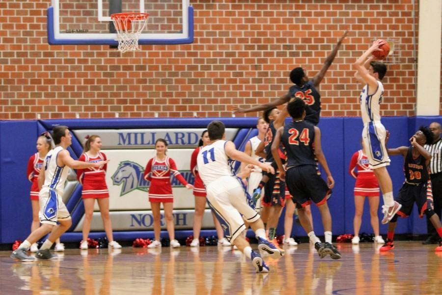 Boys basketball battles Nebraska's best